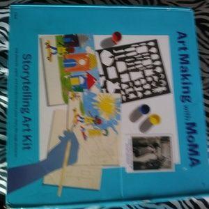 New Moma storymaking kit